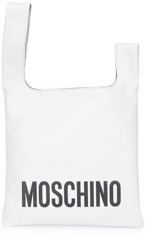 MoschinoMoschino logo tote