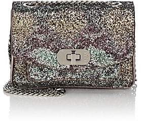Zadig & Voltaire WOMEN'S SKINNY LOVE GLITTER LEATHER BAG