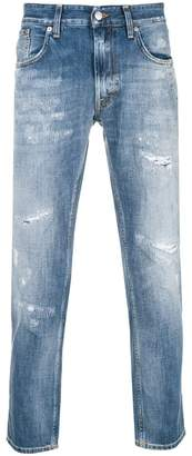 Department 5 distressed cropped jeans