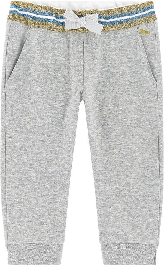 Little Marc JacobsMottled tracksuit pants with lurex