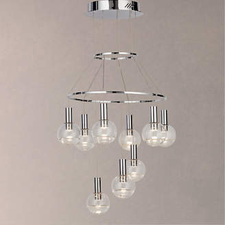 e4c39f84200 John Lewis   Partners Moondust LED 9 Pendant Cluster Ceiling Light