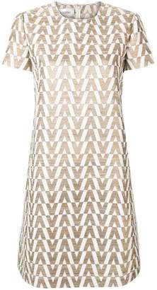 Valentino Optical shift dress
