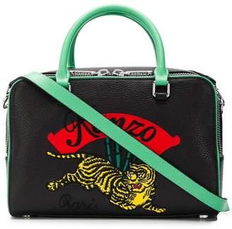 Kenzo embroidered bowling bag
