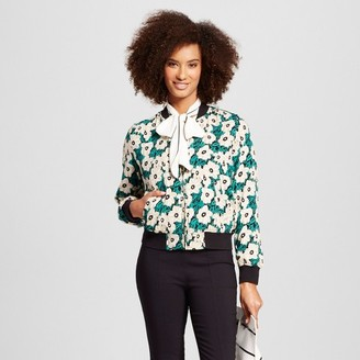Who What Wear Women's Bomber Jacket - Who What Wear $39.99 thestylecure.com