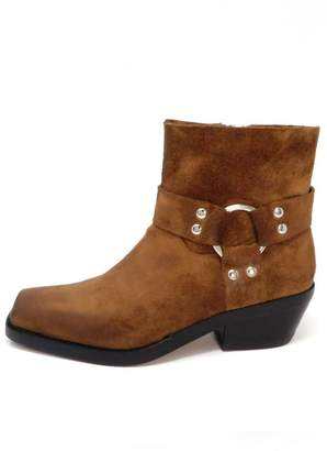 Jeffrey Campbell Brown Cowboy Boot