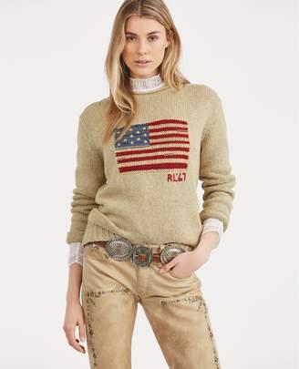 Ralph Lauren Flag Rollneck Sweater