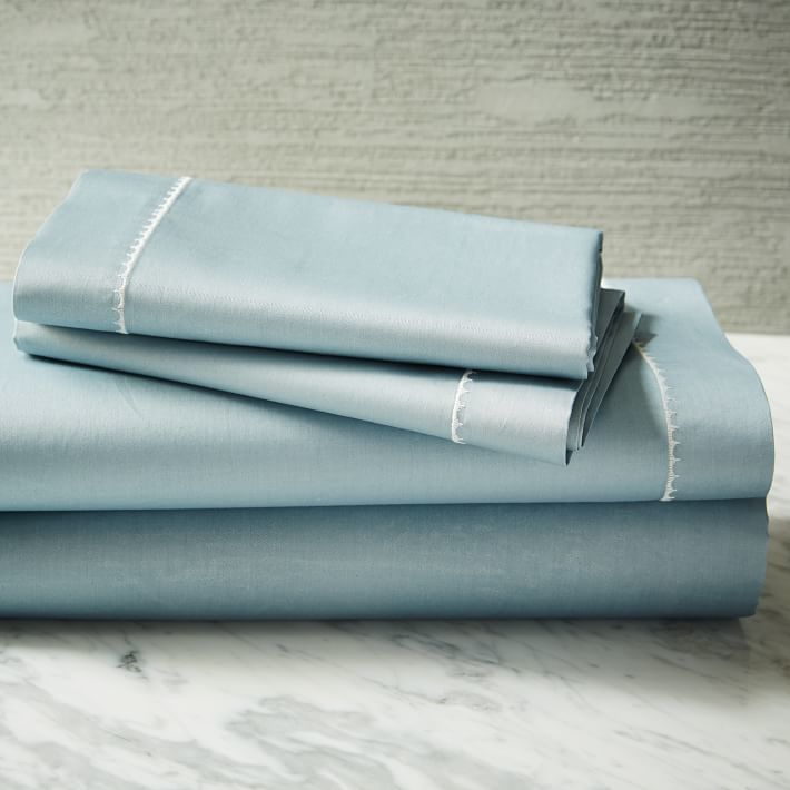 west elm 350-Thread-Count Organic Sateen Sheet Set