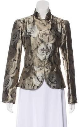 Armani Collezioni Floral Silk Jacket