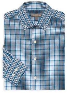 Peter Millar Plaid Dress Shirt