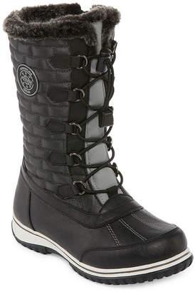 totes Womens Ember Waterproof Winter Boots Zip