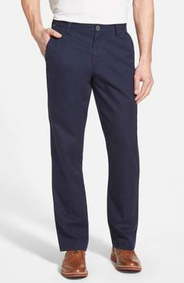 Cutter & Buck 'Beckett' Straight Leg Washed Cotton Pants