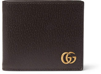 Gucci Textured-Leather Billfold Wallet - Men - Brown