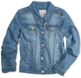 Levi's Distressed Denim Jacket, Big Girls (7-16)