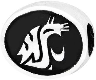Sterling Silver Washington State University Bead