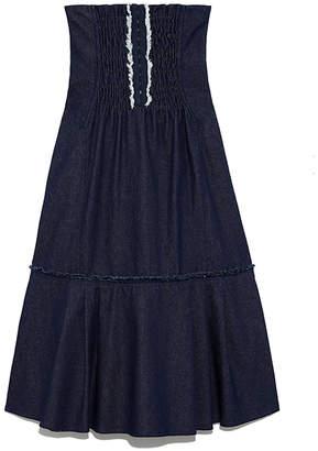 Snidel (スナイデル) - SNIDEL ハイウェストコルセットスカート