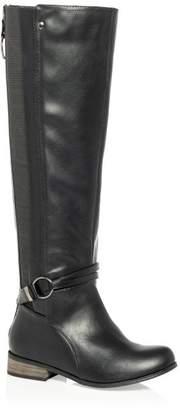 City Chic Citychic Phoebe Knee Boot - black
