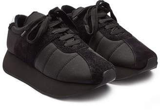 Marni Platform Sneakers with Suede