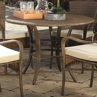 Panama Jack Outdoor Key Biscayne Wicker/Rattan Dining Table Outdoor