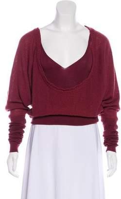 Stella McCartney Lightweight Scoop Neck Sweater