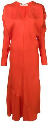 Marni relaxed crepe dress