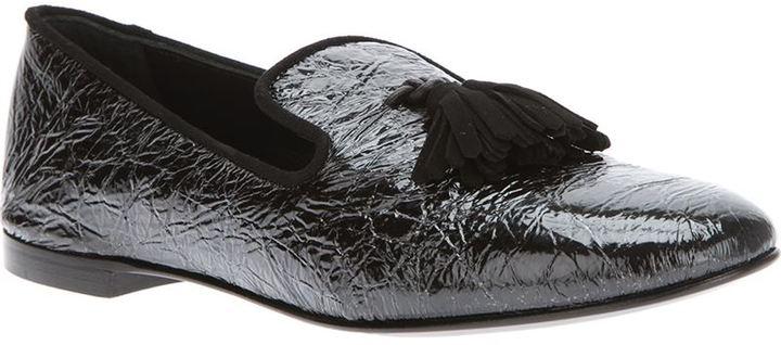 Giuseppe Zanotti Design tassel detailed slipper