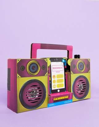Mustard Battery Powered Boombox Speaker