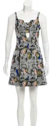 Opening Ceremony Jacquard A-Line Dress