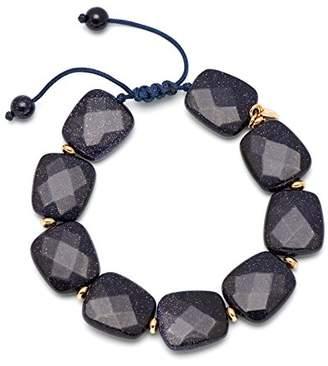 Lola Rose Alison Blue Sandstone Agate Bracelet