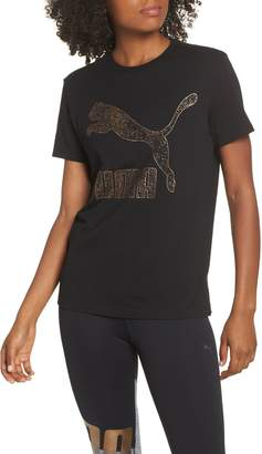 Puma Kiss Arctica Logo Tee