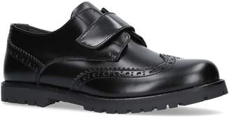 Dolce & Gabbana Patent Velcro Brogues