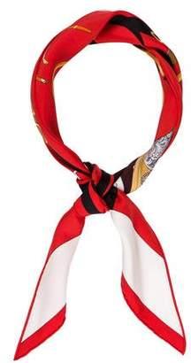 Hermes Regarde Paris Silk Bandana