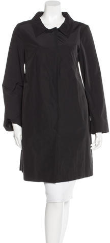 pradaPrada Fitted Knee-Length Coat