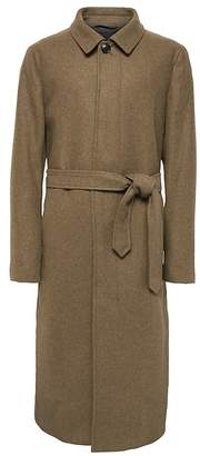 Banana Republic Heritage Italian Wool-Blend Balmacaan Coat
