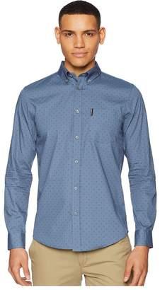 Ben Sherman Long Sleeve Polka Dot Print Shirt Men's Long Sleeve Button Up