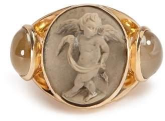 Brigid Blanco - Quartz & 18kt Gold Ring - Womens - Gold