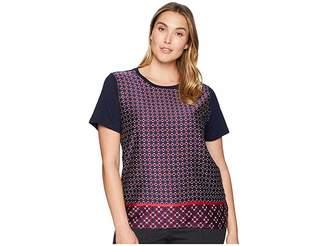Lauren Ralph Lauren Plus Size Geometric-Print T-Shirt
