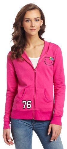 Hello Kitty Juniors 76 Printed Hooded Jacket