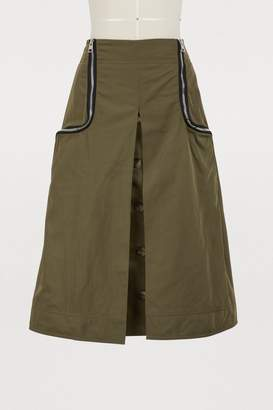 J.W.Anderson Zipped midi skirt