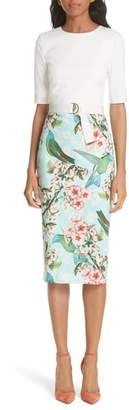 Ted Baker Julieta Nectar Body-Con Dress