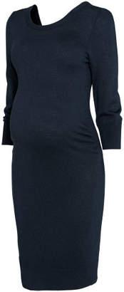 H&M MAMA Knit Dress - Blue