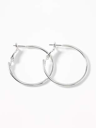 Old Navy Metal Hoop Earrings for Women