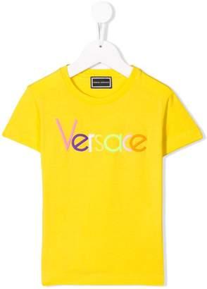 Versace crewneck logo T-shirt