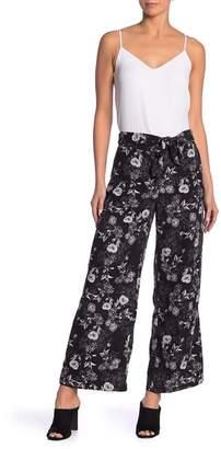 Kensie Floral Wide Leg Pants