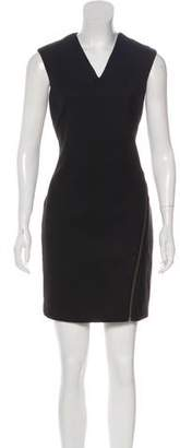 Helmut Lang Paneled Sleeveless Mini Dress