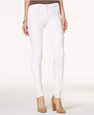 Jessica Simpson Kiss Me White Wash Super-Skinny Jeans $59.50 thestylecure.com