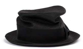 CA4LA Braid silk trilby hat