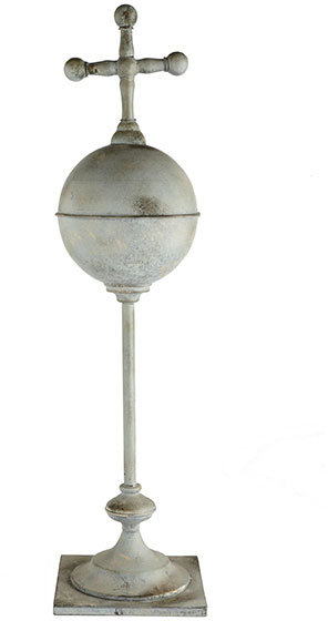Iron Royal Orb on Stand – Large