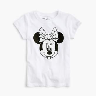 J.Crew Kids' crewcuts x Disney® sparkly glow-in-the-dark Minnie Mouse T-shirt