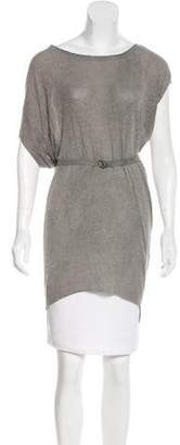 Helmut Lang Sleeveless Belted Top