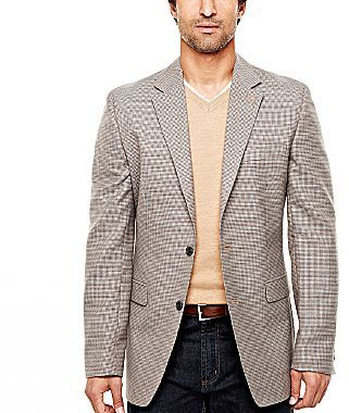 JCPenney Stafford® Lambswool-Rich Sport Coat